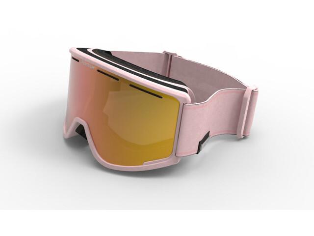 Spektrum Templet Goggles dust pink/brown revo mirror gold